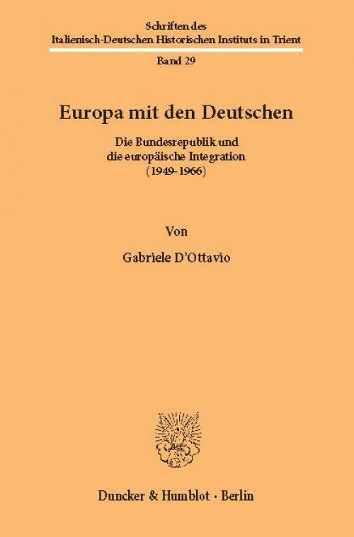 Europa mit den Deutschen. cover