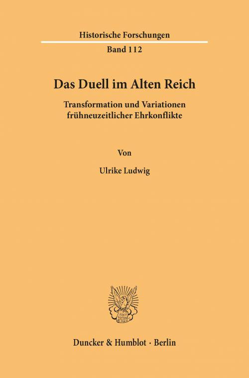 Das Duell im Alten Reich. cover