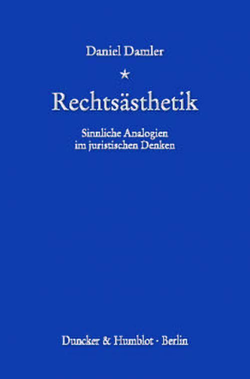 Rechtsästhetik. cover