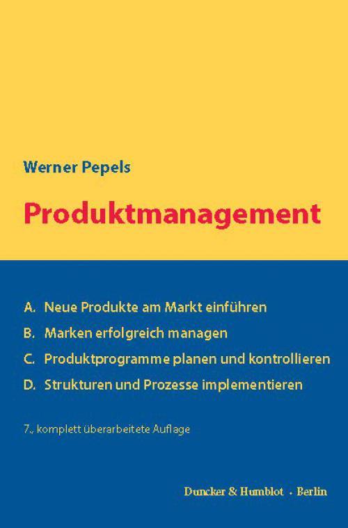 Produktmanagement. cover