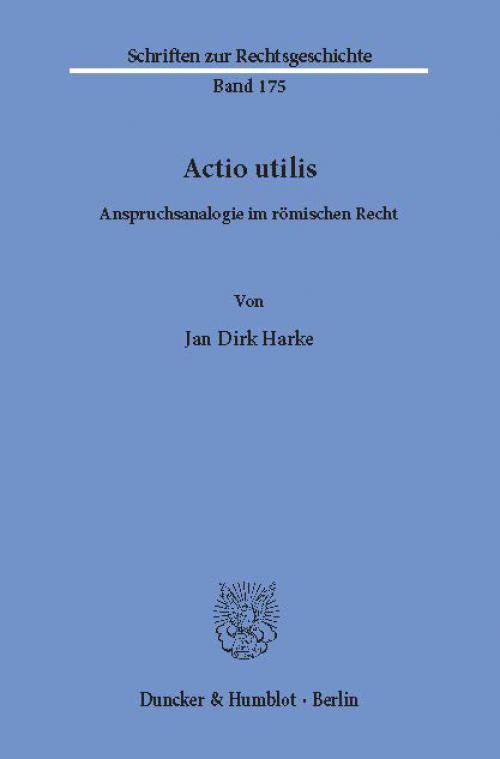 Actio utilis. cover