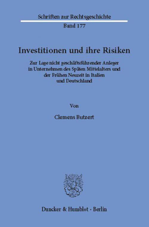 Investitionen und ihre Risiken. cover