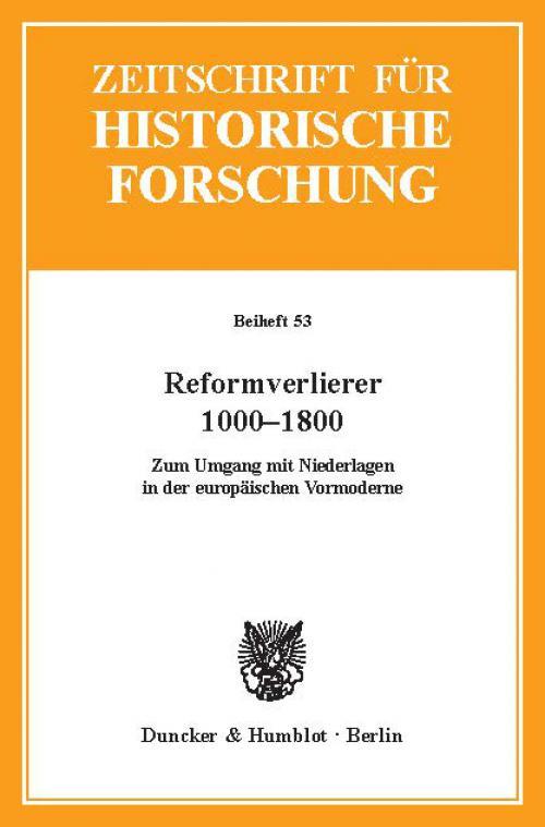 Reformverlierer 1000–1800. cover