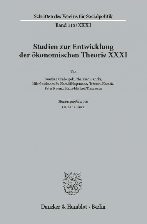 Geschichte der Entwicklungstheorien. cover