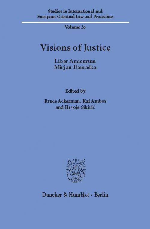 Visions of Justice. cover