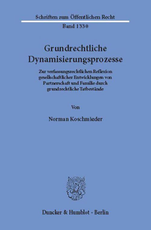Grundrechtliche Dynamisierungsprozesse. cover