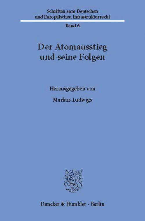 Der Atomausstieg und seine Folgen. cover