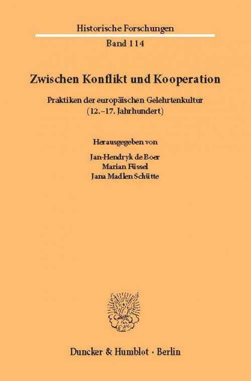 Zwischen Konflikt und Kooperation. cover