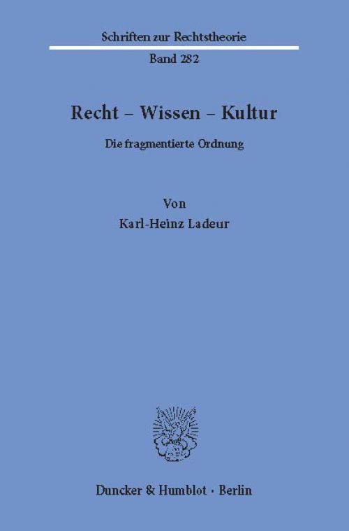 Recht – Wissen – Kultur. cover