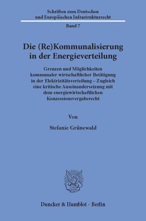 Die (Re)Kommunalisierung in der Energieverteilung. cover