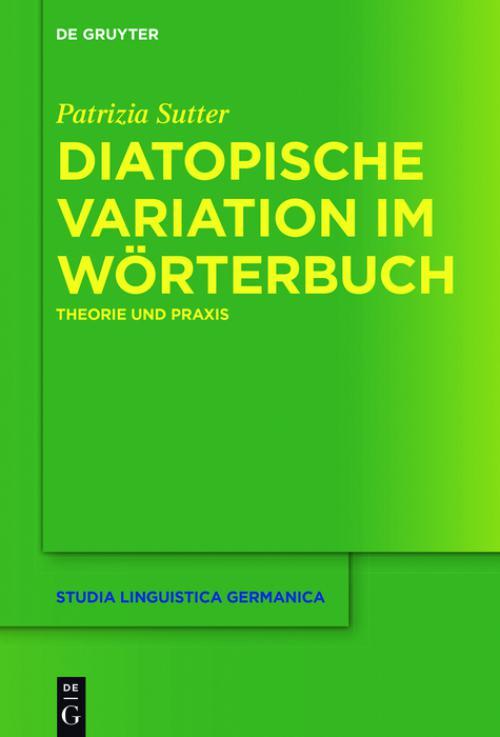Diatopische Variation im Wörterbuch cover