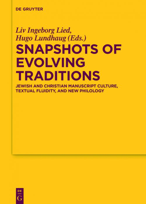 Snapshots of Evolving Traditions cover