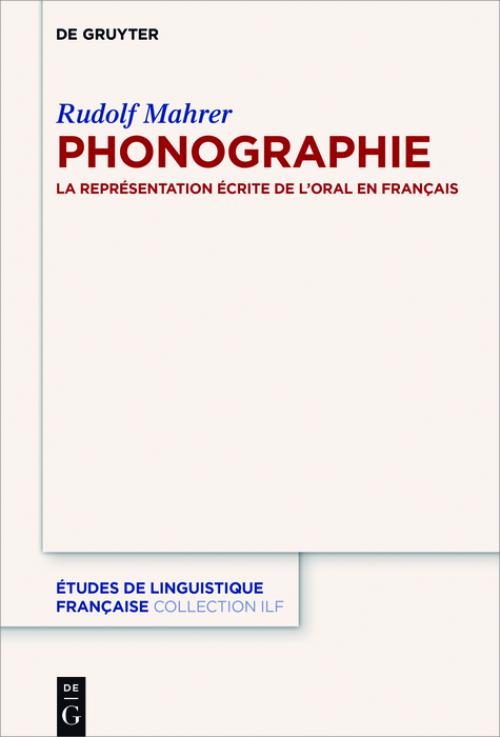 Phonographie cover