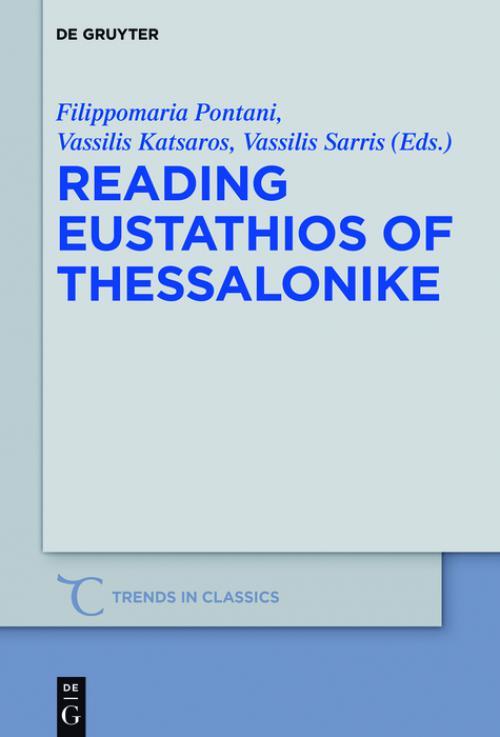 Reading Eustathios of Thessalonike cover