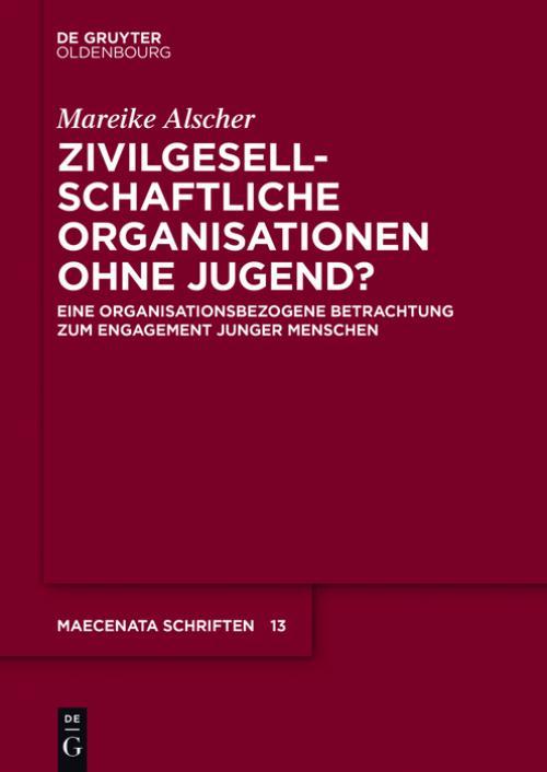 Zivilgesellschaftliche Organisationen ohne Jugend? cover