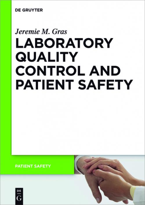 Laboratory quality control and patient safety cover