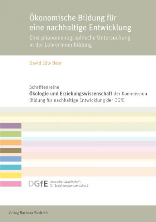 Ökonomische Bildung für eine nachhaltige Entwicklung cover