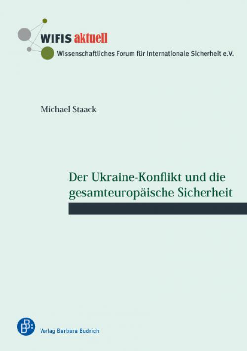 Der Ukraine-Konflikt und die gesamteuropäische Sicherheit cover