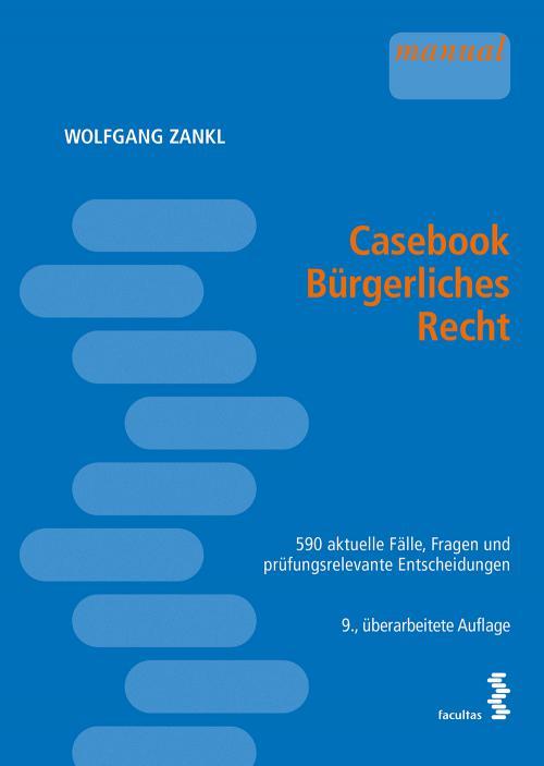 Casebook Bürgerliches Recht cover