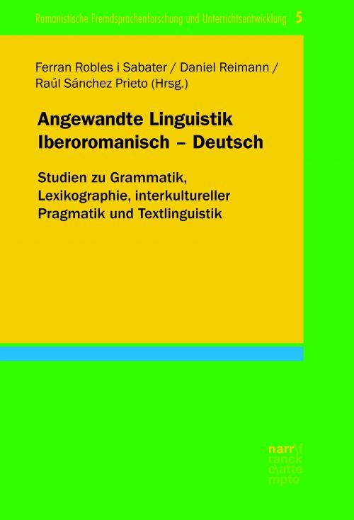 Angewandte Linguistik Iberoromanisch - Deutsch cover