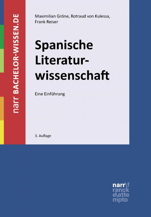 Spanische Literaturwissenschaft cover