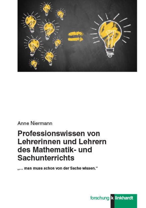 Professionswissen von Lehrerinnen und Lehrern des Mathematik- und Sachunterrichts cover