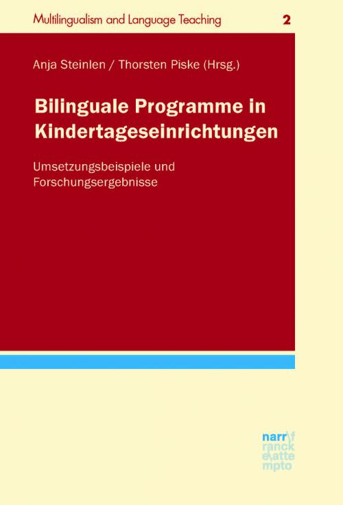 Bilinguale Programme in Kindertageseinrichtungen cover