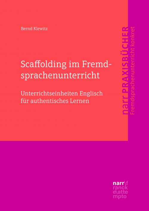 Scaffolding im Fremdsprachenunterricht cover