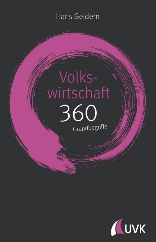 Volkswirtschaft: 360 Grundbegriffe kurz erklärt cover