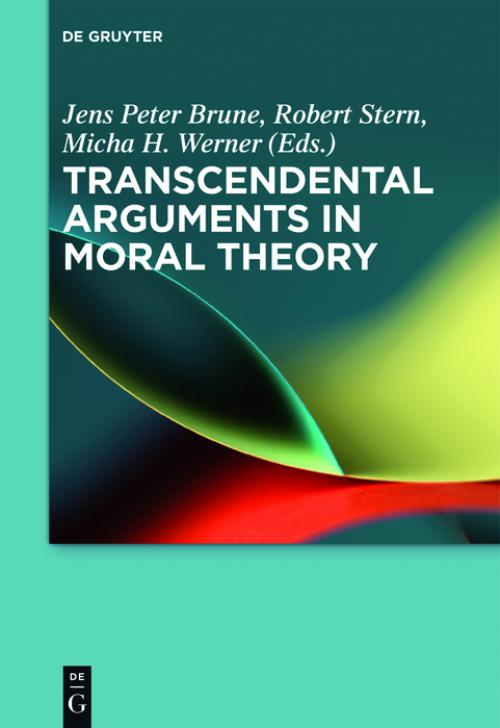 Transcendental Arguments in Moral Theory cover