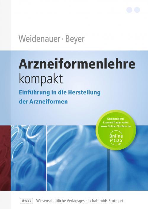 Arzneiformenlehre kompakt cover