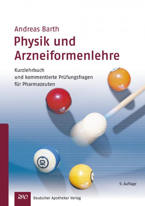 Physik und Arzneiformenlehre cover