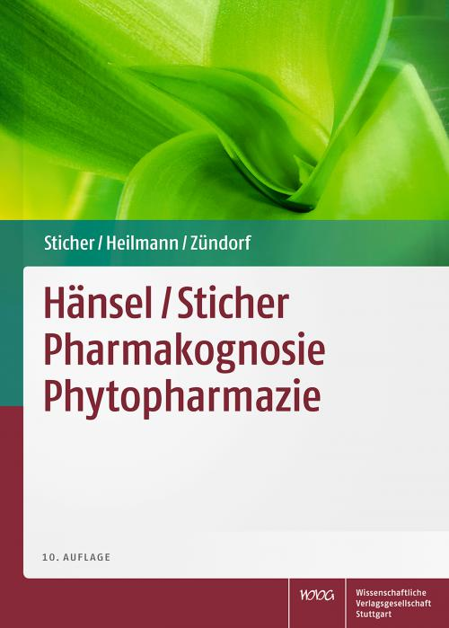 Pharmakognosie Phytopharmazie cover