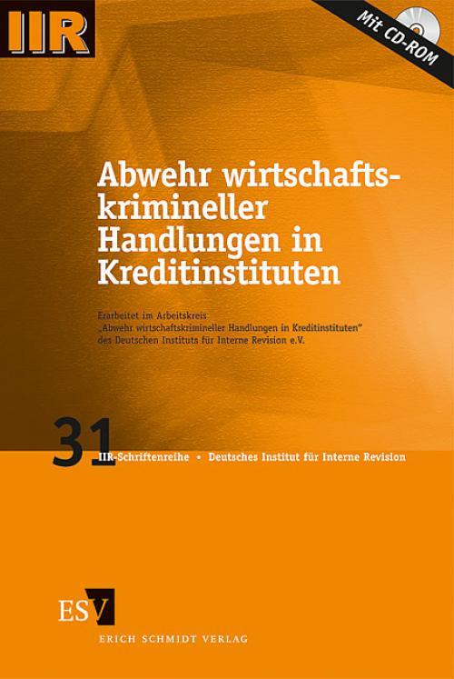 Abwehr wirtschaftskrimineller Handlungen in Kreditinstituten cover