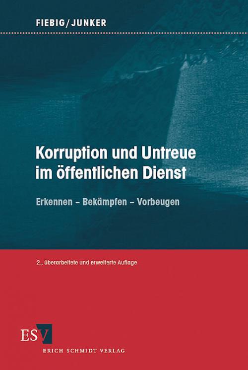 Korruption und Untreue im öffentlichen Dienst cover