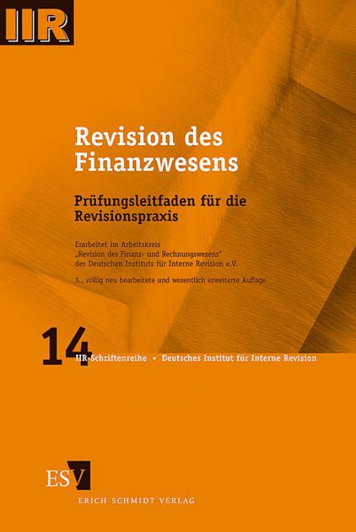 Revision des Finanzwesens cover