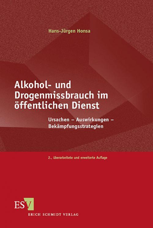 Alkohol- und Drogenmissbrauch im öffentlichen Dienst cover