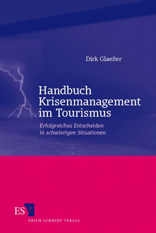 Handbuch Krisenmanagement im Tourismus cover