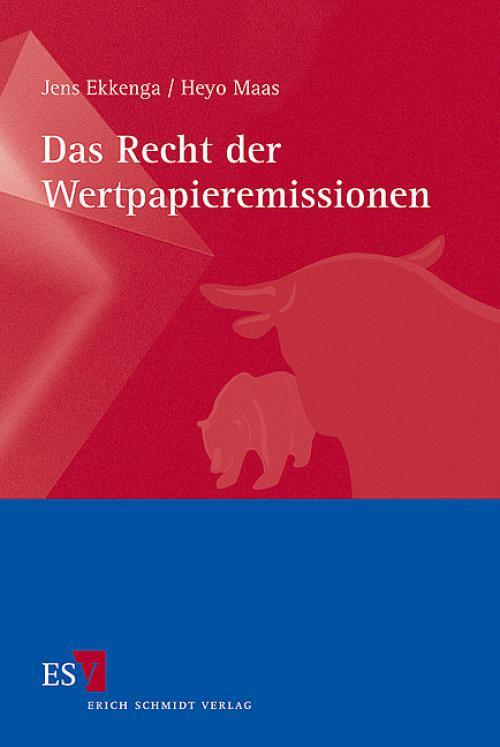 Das Recht der Wertpapieremissionen cover