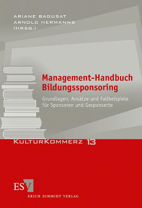 Management-Handbuch Bildungssponsoring cover