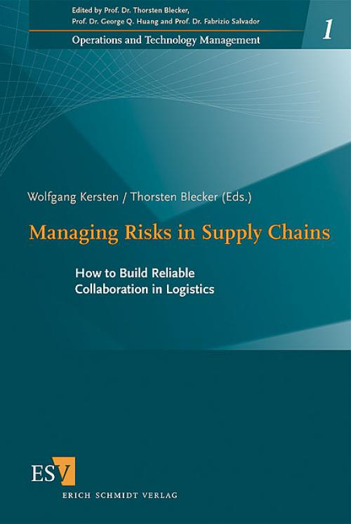Managing Risks in Supply Chains cover