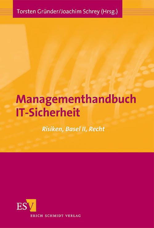 Managementhandbuch IT-Sicherheit cover