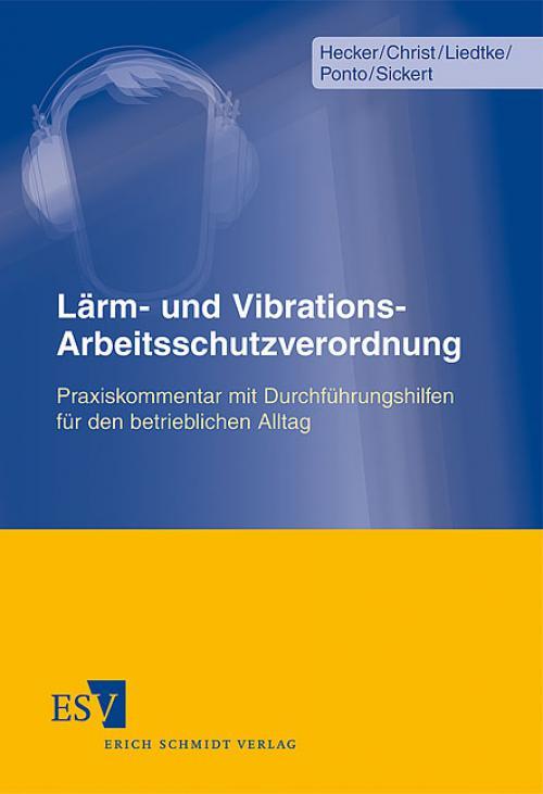 Lärm- und Vibrations-Arbeitsschutzverordnung cover