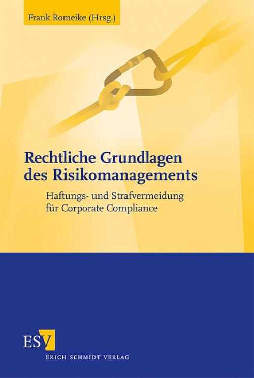 Rechtliche Grundlagen des Risikomanagements cover