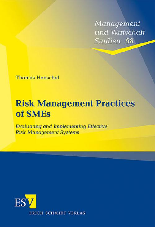 Risk Management Practices of SMEs cover
