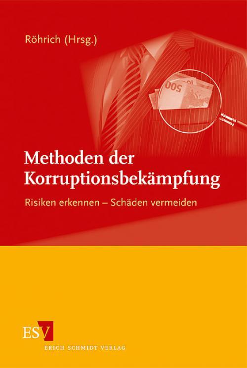 Methoden der Korruptionsbekämpfung cover