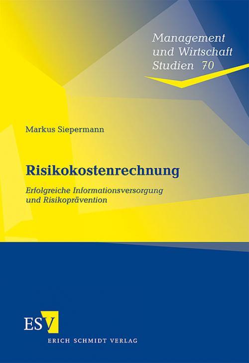Risikokostenrechnung cover