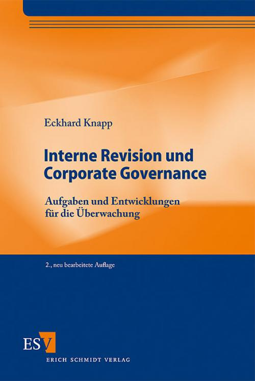 Interne Revision und Corporate Governance cover