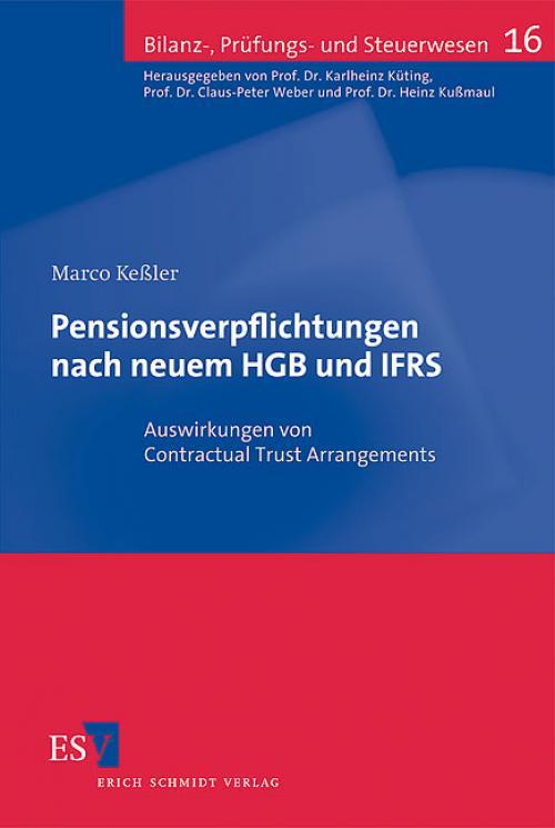 Pensionsverpflichtungen nach neuem HGB und IFRS cover