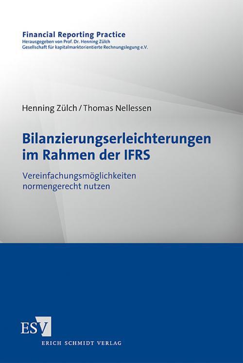 Bilanzierungserleichterungen im Rahmen der IFRS cover
